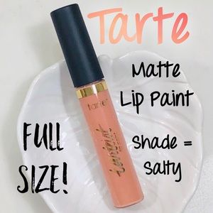 Tarte Quick Dry Matte Lip Paint - Salty